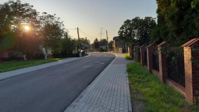 Oświęcim. Po przebudowie zmienił się wygląd ulicy Wysokie Brzegi