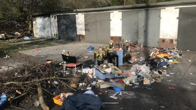 OŚWIĘCIM. Podejrzany o podpalanie śmieci oraz przestępstwa przeciwko funkcjonariuszom