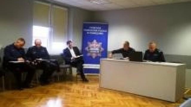 Oświęcim. Podsumowanie działań Policji w 2018 roku na rzecz bezpieczeństwa mieszkańców powiatu oświęcimskiego