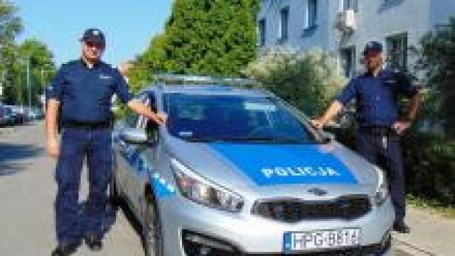 Oświęcim. Policjanci interweniowali wobec mężczyzny, który usiłował targnąć się na własne życie