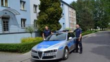 Oświęcim. Policjanci pilotowali samochód w drodze na porodówkę