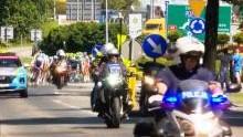 Oświęcim. Policjanci zabezpieczali IV etap 75. Tour de Pologne 2018