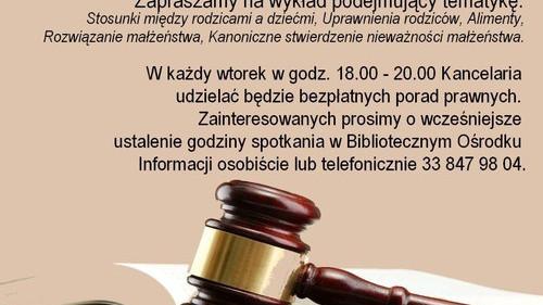 OŚWIĘCIM. Porady prawne dla mieszkańców