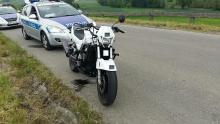 Oświęcim. Pościg za motocyklistą bez uprawnień do kierowania