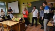 Oświęcim. Powiatowe eliminacje  do Ogólnopolskiego Młodzieżowego Turnieju Motoryzacyjnego,  Oświęcim 2016