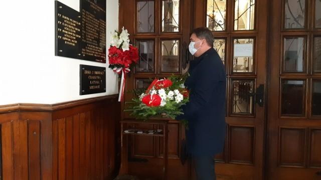 OŚWIĘCIM. Prezydent Janusz Chwierut oddał hołd ofiarom zbrodni katyńskiej