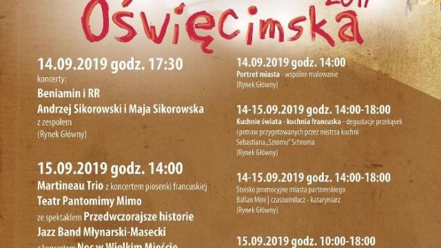 OŚWIĘCIM. Program Jesieni Oświęcimskiej 2019
