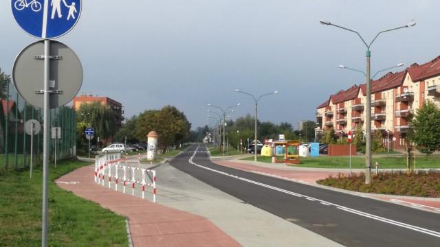 Oświęcim. Przebudowane ulice na Starych Stawach