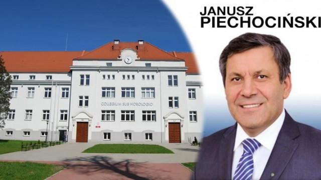 Oświęcim - przyjdź do PWSZ i spotkaj się z Wicepremierem J. Piechocińskim