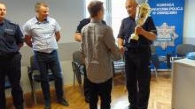 Oświęcim. Puchar Komendanta i wyjątkowa niespodzianka dla laureata XIX Ogólnopolskiego Konkursu Modeli Kartonowych w Przeciszowie