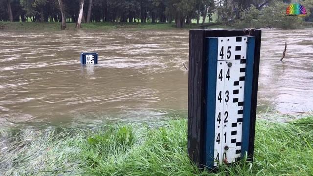 OŚWIĘCIM. Stan pogotowia przeciwpowodziowego w mieście