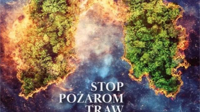 Oświęcim. Stop wypalaniu traw!