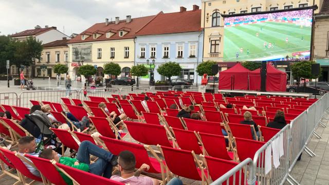 OŚWIĘCIM. Strefa kibica na Rynku Główny podczas Euro 2020