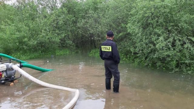 Oświęcim. Sytuacja w mieście w związku z alarmem powodziowym