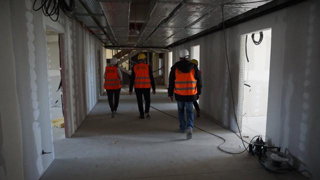 OŚWIĘCIM. Trzeci, największy budynek Małopolskiej Uczelni Państwowej