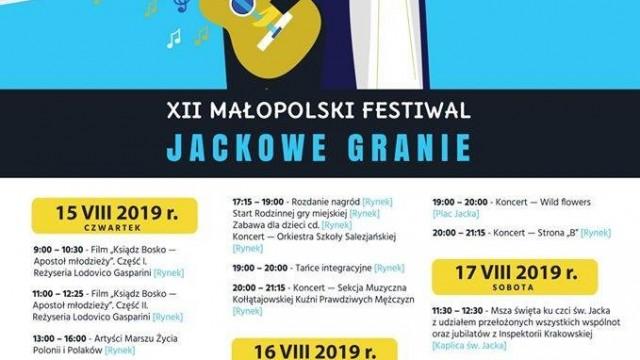"""Oświęcim. Trzydniowe świętowanie. Małopolski Festiwal """"Jackowe Granie"""" i Święto Patrona Oświęcimia św. Jana Bosko"""