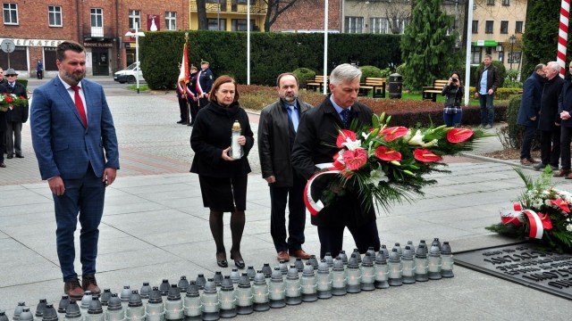 OŚWIĘCIM. Uczcili pamięć ofiar katastrofy lotniczej pod Smoleńskiem