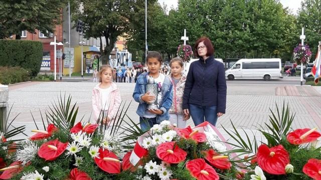 Oświęcim. Uroczyste upamiętnienie. 80.rocznica napaści ZSRR na Polskę