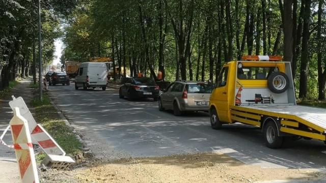 Oświęcim. Utrudnienia w ruchu na ul. Olszewskiego w związku z jej modernizacją