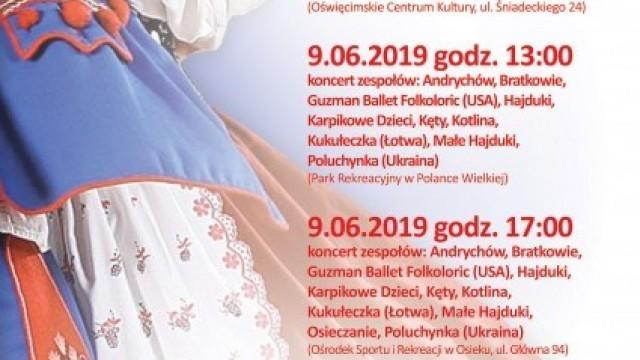 """Oświęcim. V Spotkania Folklorystyczne """"Sami Swoi"""""""
