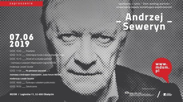 OŚWIĘCIM. W piątek spotkanie z Andrzejem Sewerynem