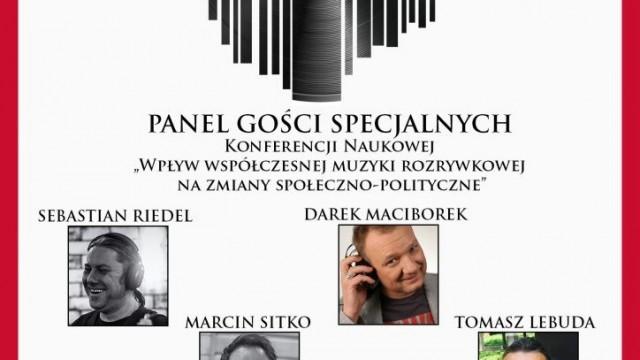 Oświęcim. W PWSZ o muzyce z udziałem m. in. Darka Maciborka i Sebastiana Riedla