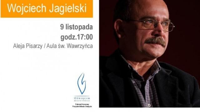 Oświęcim. Wojciech Jagielski w Alei Pisarzy