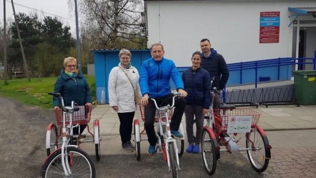OŚWIĘCIM. Wypożyczalnia trzykołowych rowerów rehabilitacyjnych