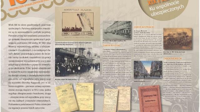 """OŚWIĘCIM. Wystawa """"100 lat ubezpieczeń społecznych w Polsce"""""""