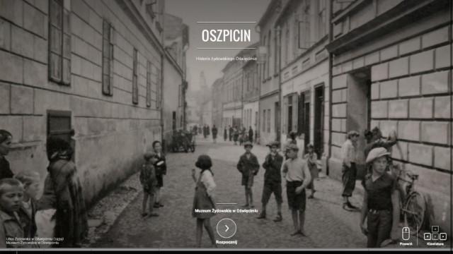 OŚWIĘCIM. Wystawa Oszpicin w Google Cultural Institute