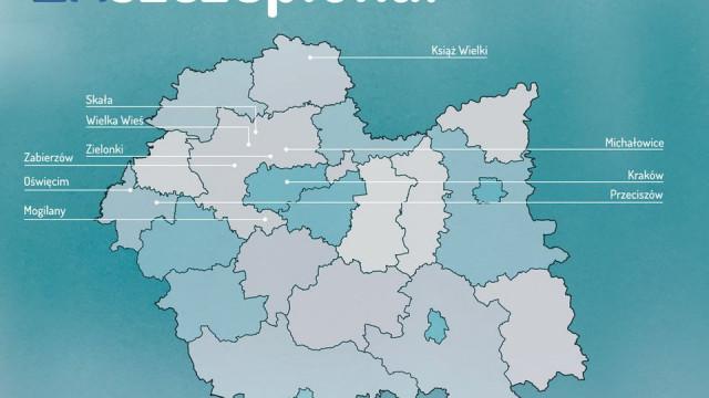Oświęcim zamyka listę dziesięciu najlepiej wyszczepionych gmin Małopolski