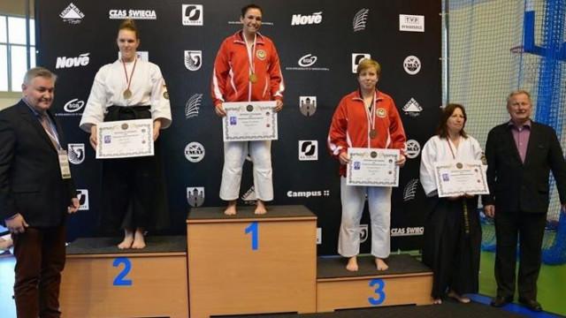 Oświęcim - złoto i tytuł Mistrzyni Europy w Kobudo dla sierż. Pszczelińskiej