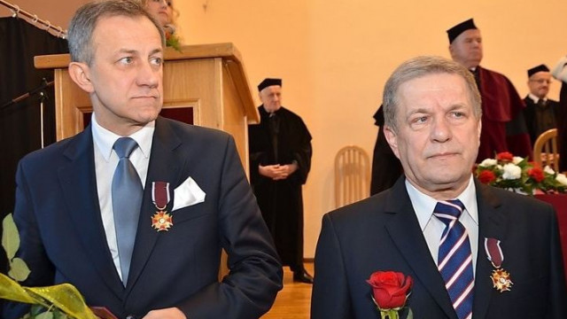 OŚWIĘCIM. Złoty Krzyż Zasługi dla rektora PWSZ