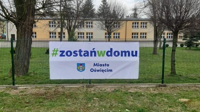 Oświęcim. #Zostań w domu. Apelują władze miasta Oświęcimia