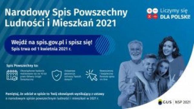 Oświęcimianie będą mieli kolejną okazję, aby szybko isprawnie spisać się wNarodowym Spisie Powszechnym Mieszkań iLudności 2021
