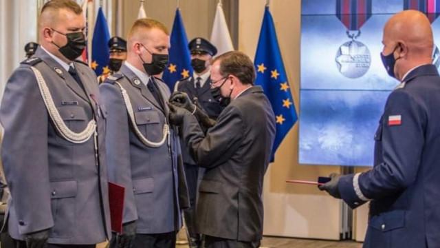 Oświęcimscy Policjanci wyróżnieni odznaką im. podkomisarza Policji Andrzeja Struja – ZDJĘCIA!