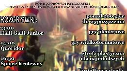 Oświęcimski Festiwal Gier już w sobotę