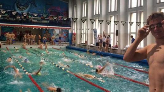 Oświęcimski SMS na imprezie pływackiej w Krakowie