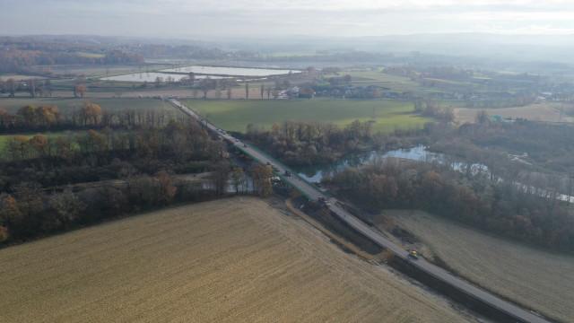Otwarty został most na DW949 w Łękach. Remont trwał ponad rok - InfoBrzeszcze.pl