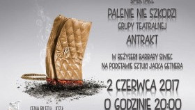 """""""Palenie nie szkodzi"""" w Domu Kultury w Kętach"""