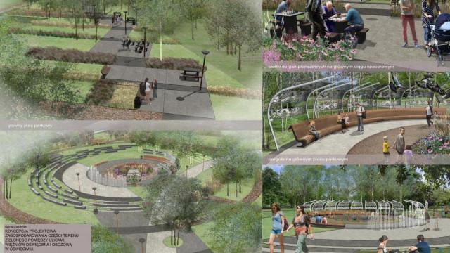 Park na Zasolu będzie gotowy pod koniec roku. Roboty ruszą w sierpniu
