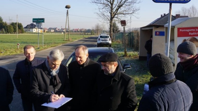 Pięciokilometrowy trakt powiatowy w Przeciszowie idzie do przebudowy