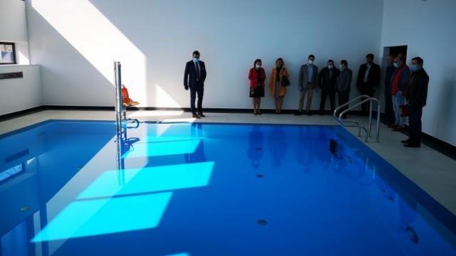 Pierwszy etap oficjalnie zakończony. Uczniowie SOSW ucieszą się z basenu, auli i pracowni