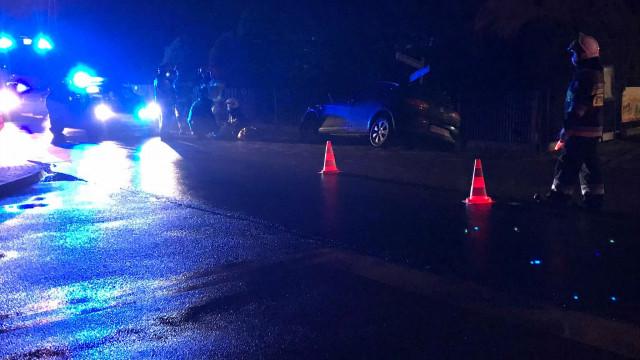 Pijany rajd zakończył się uszkodzeniem samochodu oraz obywatelskim zatrzymaniem – FILM, ZDJĘCIA!
