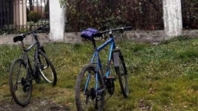 Pijany rowerowy duet wpadł w ręce policjantów