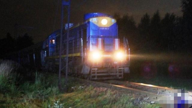 Pociąg śmiertelnie potrącił kobietę.