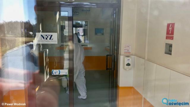 Podejrzenie koronawirusa w Oświęcimiu