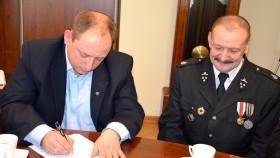 Podpisano porozumienie w sprawie włączenia OSP Bielany do Krajowego Systemu Ratowniczo-Gaśniczego