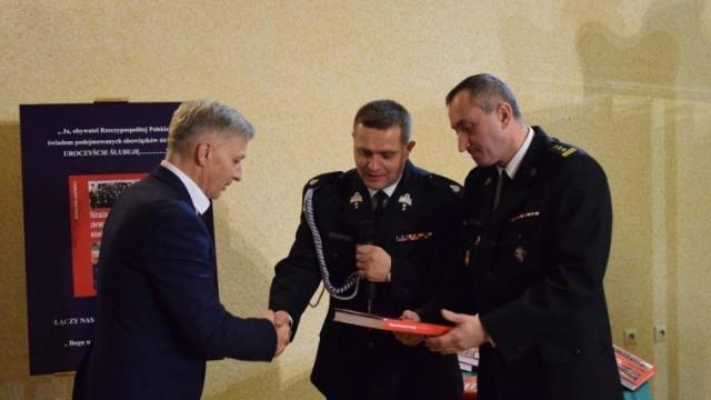 Podsumowanie roku przez Zarząd Oddziału Powiatowego ZOSP RP w Oświęcimiu