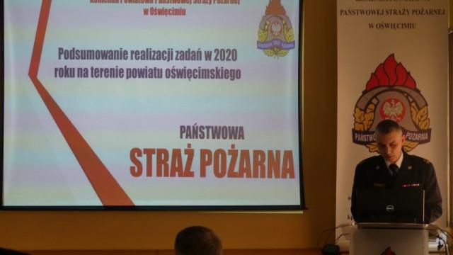 Podziękowania dla samorządów powiatu oświęcimskiego za współpracę z jednostkami ochrony przeciwpożarowej